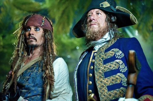 On Stranger Tides a Depp és a Rush