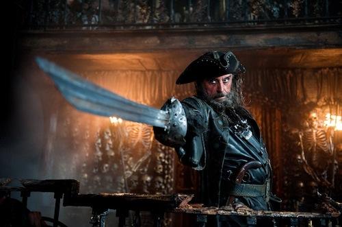 Feketeszakáll a Pirates 4-ben