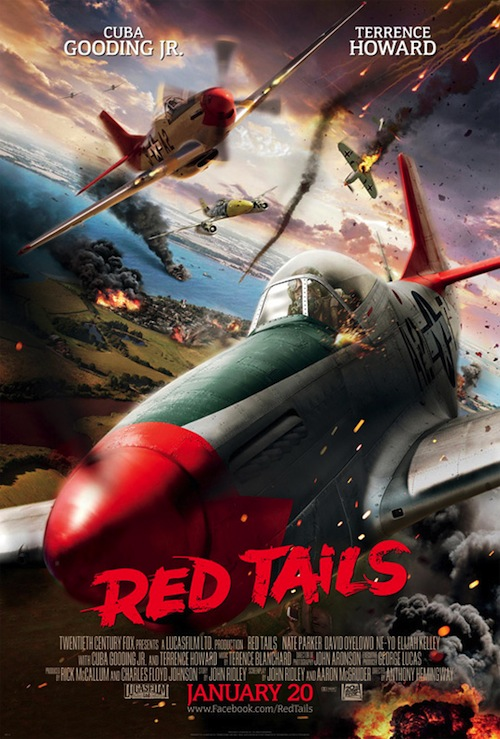 A Red Tails posztere