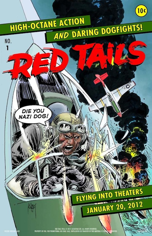 Red Tails comic poszter
