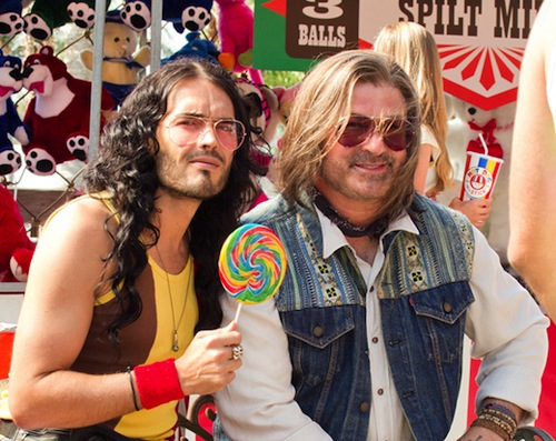 Rock of Ages főszereplői: Baldwin és Brand