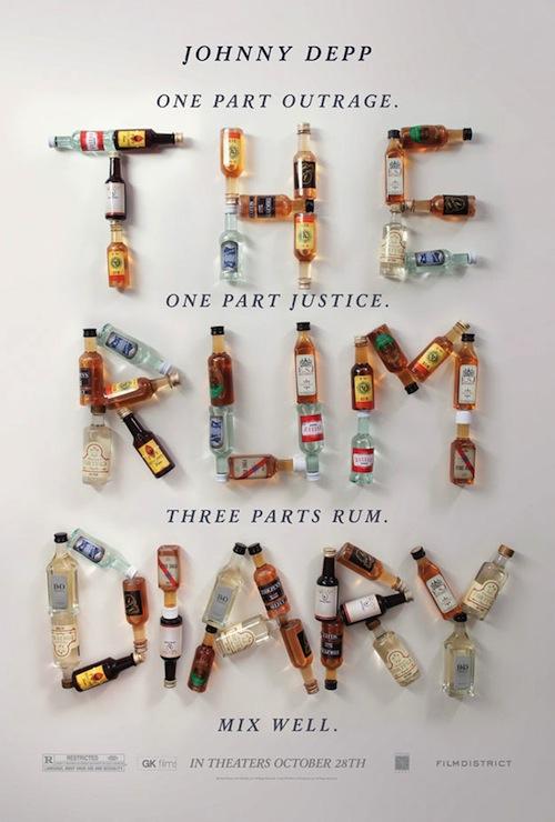Rum Diary poszter Depp nélkül