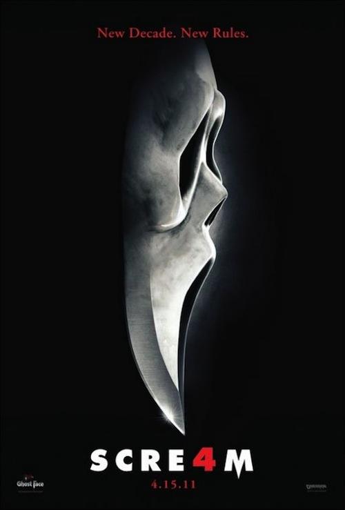 Scream 4 újabb posztere