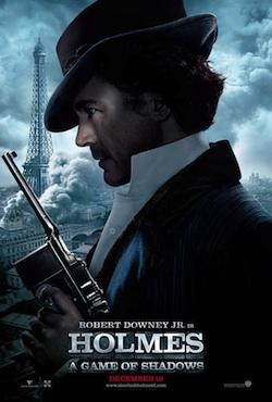 Sherlock Holmes: A Game of Shadows főszereplők az új posztereken