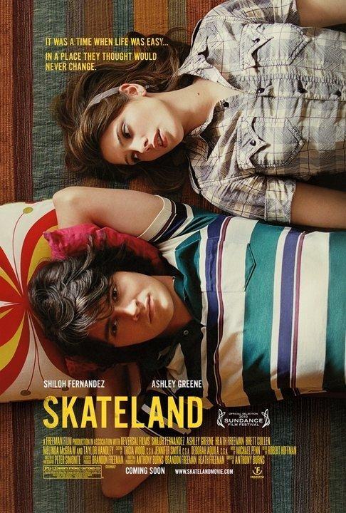 a Skateland posztere