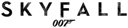 A Skyfall (új bond-film) logója