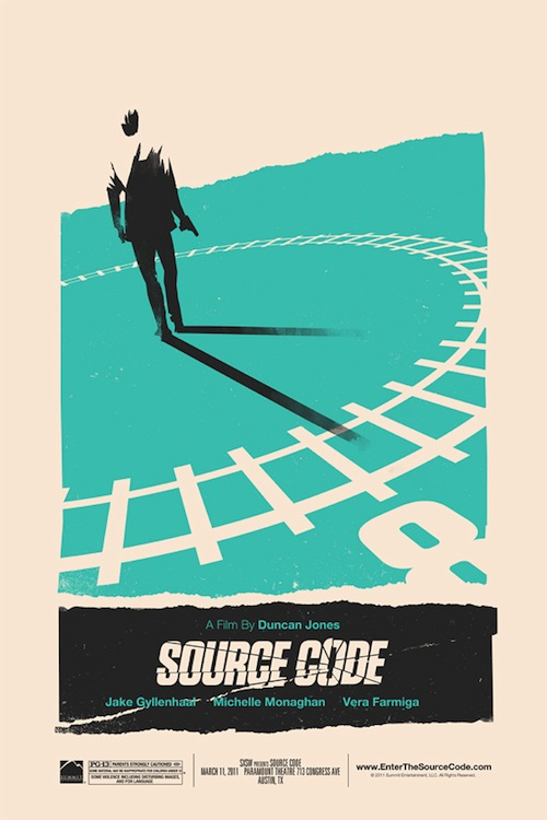 Source Code posztere Mosstól