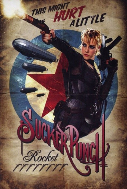 Sucker Punck és a Pinup poszterei