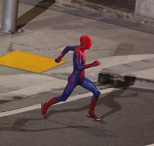 Pókember fut