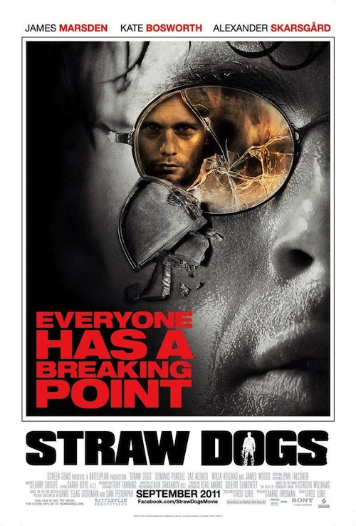 Straw Dogs 2011 posztere