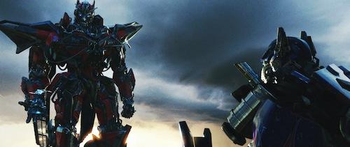 a két fővezér a Transformers 3-ban