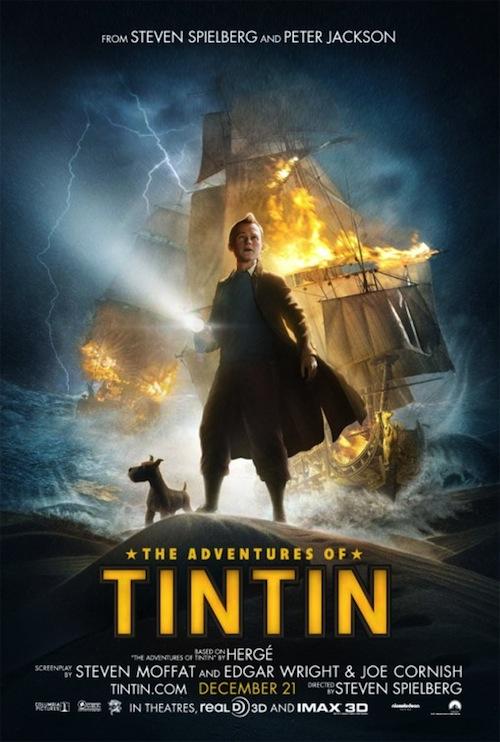 Tintin: unicorn új posztere