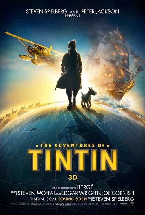 Tintin poszterei