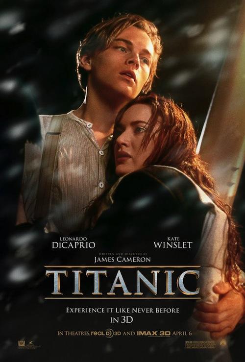 A Titanic 3D posztere