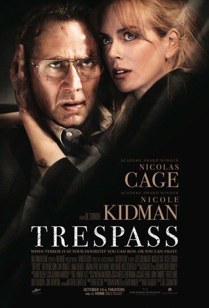 A Trespass posztere