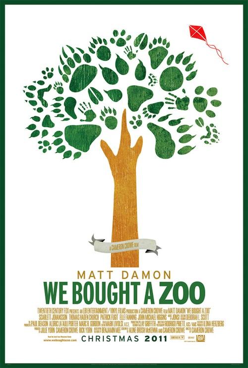 A We Bought A Zoo és a rajzolt lábnyomok