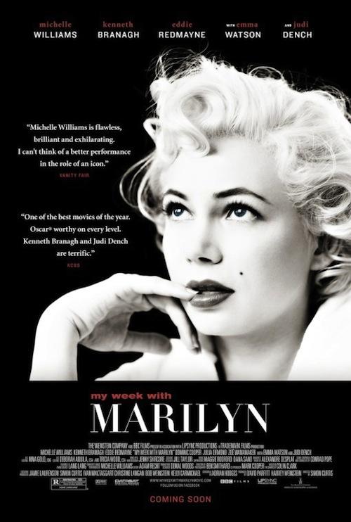 My Week With Marilyn legújabb posztere