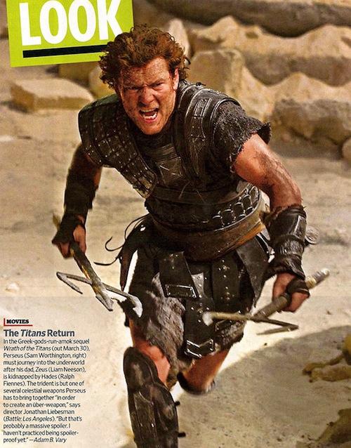 Első kép a Wrath of the Titans-ből