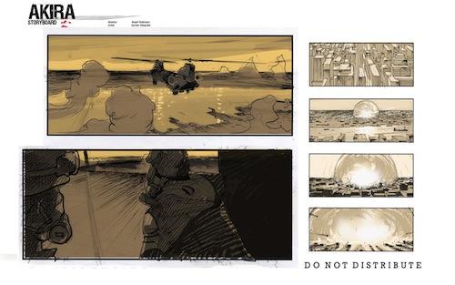 akira storyboard page1