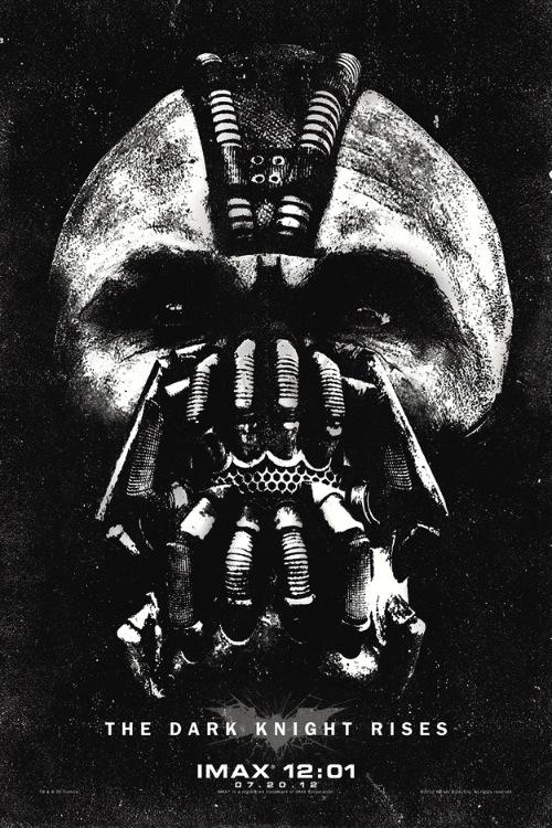 Bane az új Batman IMAX poszterén
