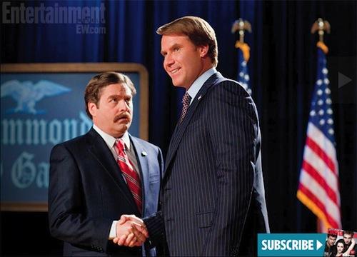 Will Ferrell és Zach Galifianakis a Campaignben