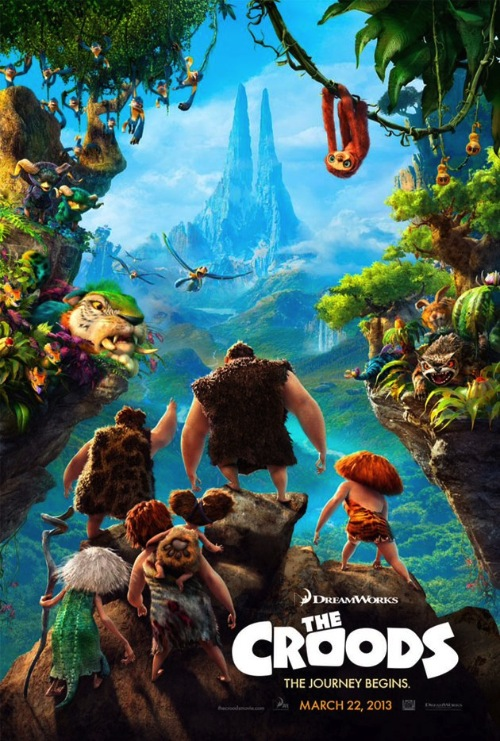 A Croods posztere