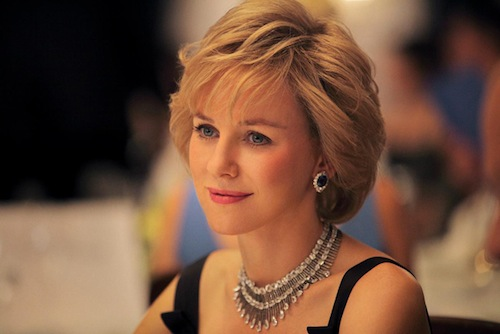 Diana szerepében Watts