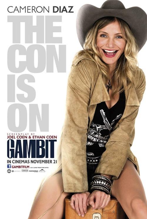 Gambit poszteren Diaz