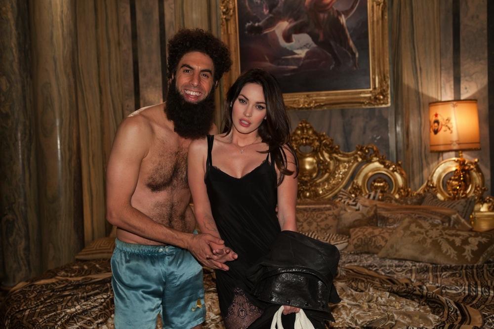 A diktátor és Megan Fox