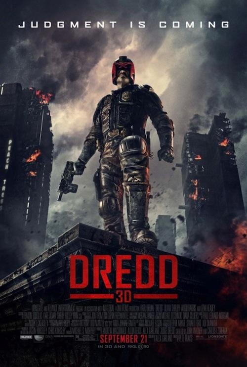Dredd 3D-poszter