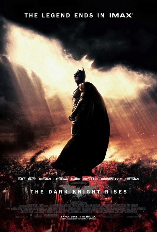 The Dark Knight Rises in IMAX