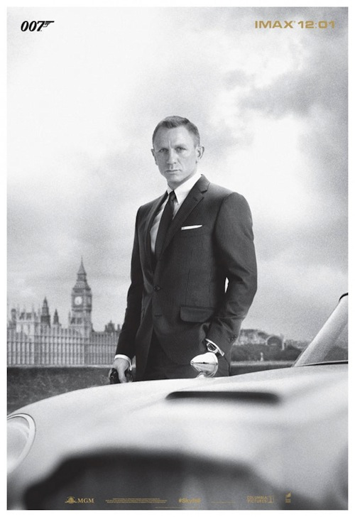 A skyfall imax posztere