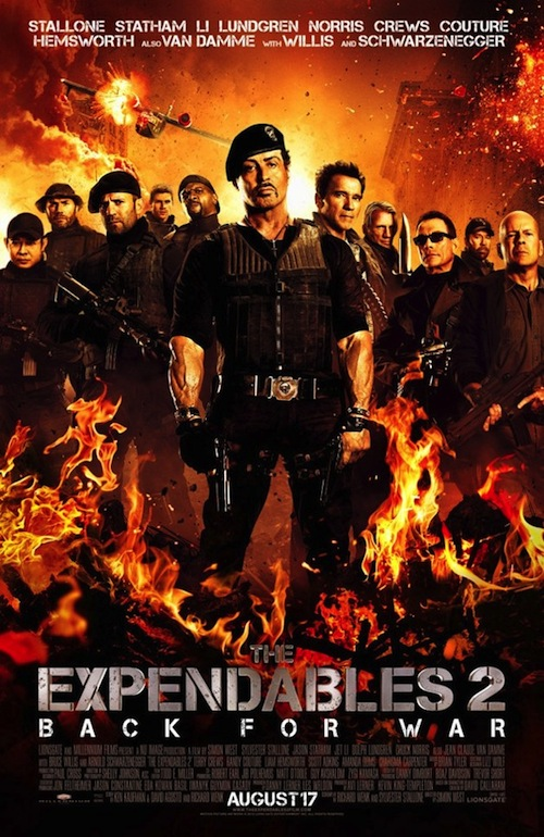 Expendables 2 poszter: Back for War