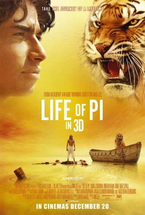 Life of Pi-poszter