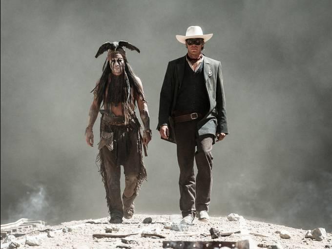 hivatalos Lone Ranger-képek