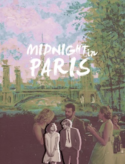 A Midnight in Paris fura posztere