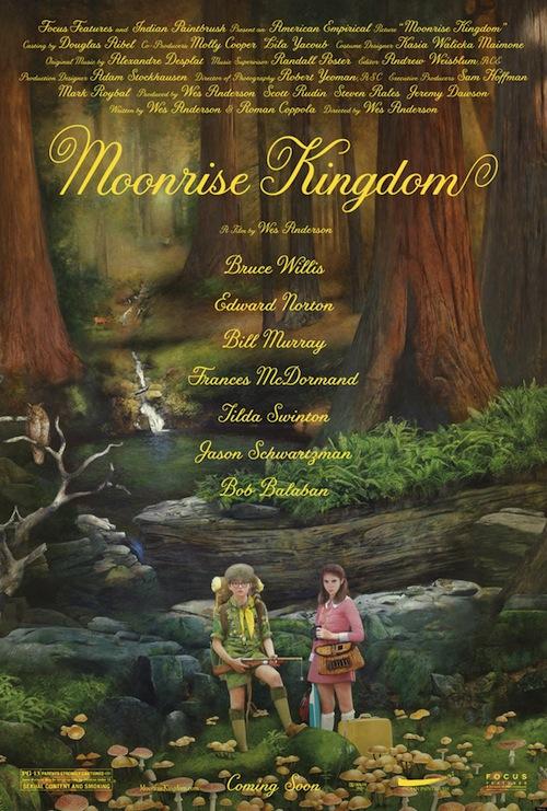 A Moonrise Kingdom posztere
