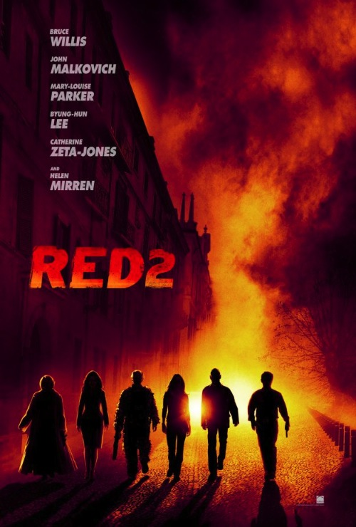 RED2 teaser poster