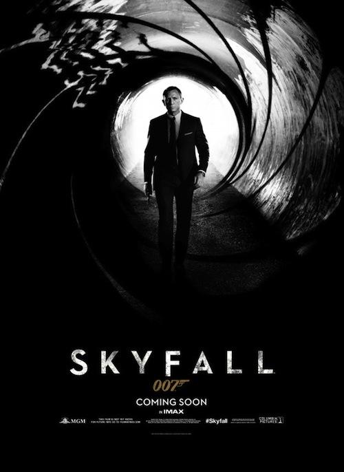A Skyfall posztere