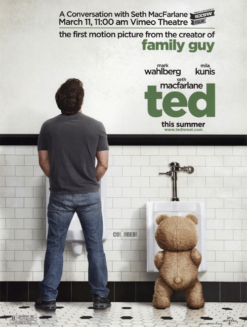 a Ted posztere