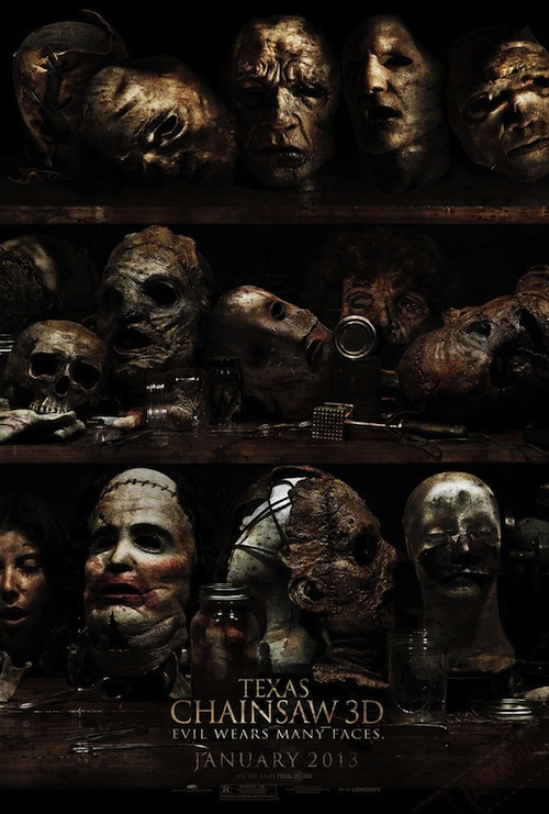 Texas Chainsaw 3D posztere