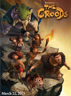 The Croods posztere