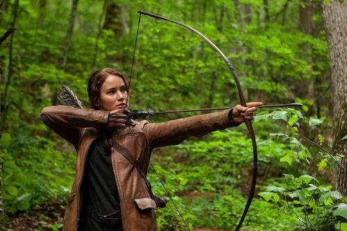 Katniss az éhezők viadala előtt