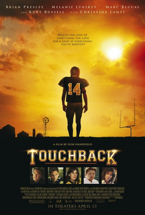 A Touchback posztere