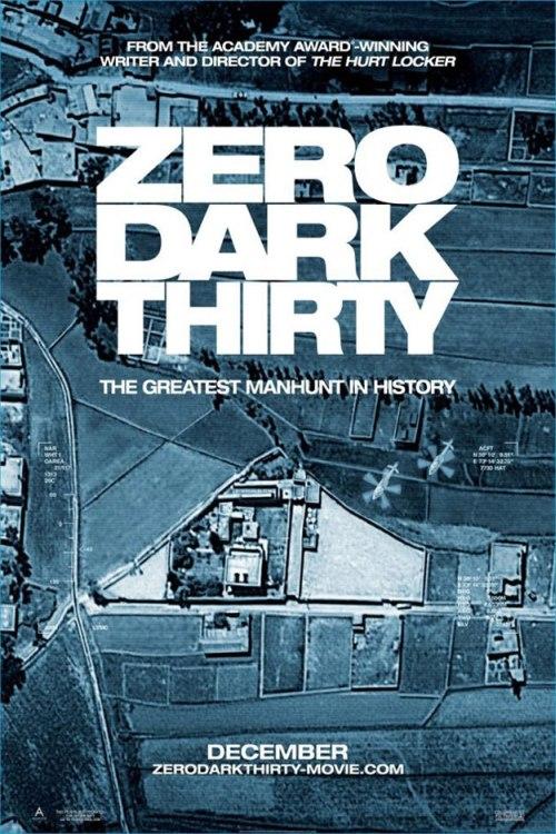 A Zero Dark Thirty posztere