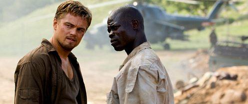 DiCaprio most egyhelyben áll, Véres gyémánt