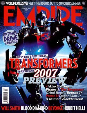 Optimus Prime, Transformers live movie