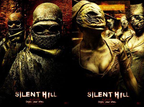 Silent Hill poszterek: Miners, Nurses