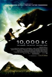 10000 BC poster