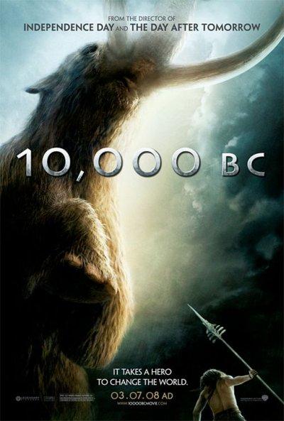 10 000 Bc poster
